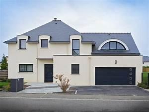 Plan Grande Maison : grande maison moderne les maisons malouines ~ Melissatoandfro.com Idées de Décoration
