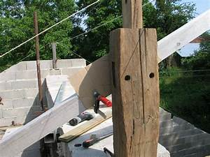 Fabriquer Tenon Mortaise : montage de la ferme de charpente restaurer sa ~ Premium-room.com Idées de Décoration