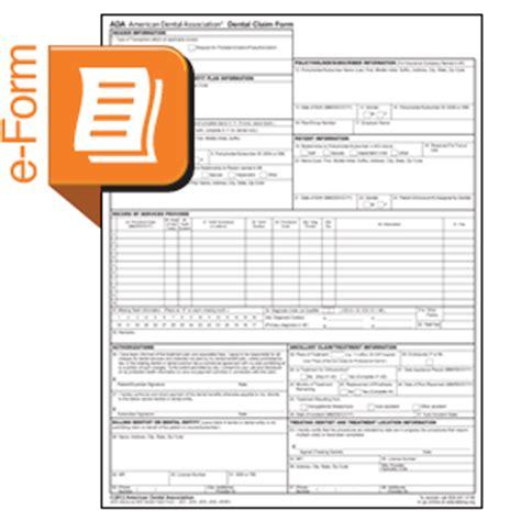 bond claim form dental claim form bond in red ink ada j434