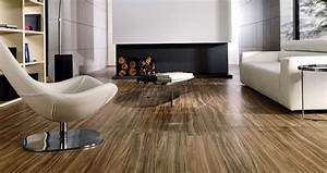 Porcelanosa Tavola Zebrano floor tiles - Modern - Living ...