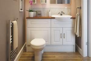 Bathroom suites cloakroom suites diy at bq for Bathroom portraits
