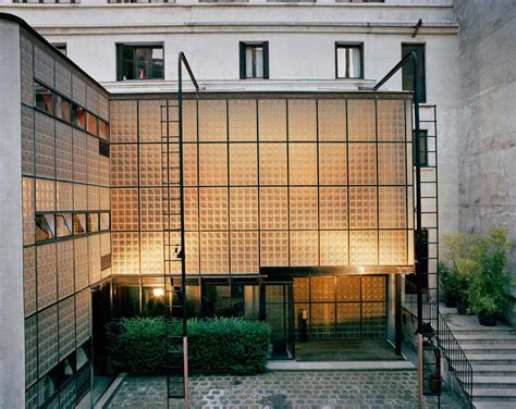 maison de verre by chareau bernard bijvoet