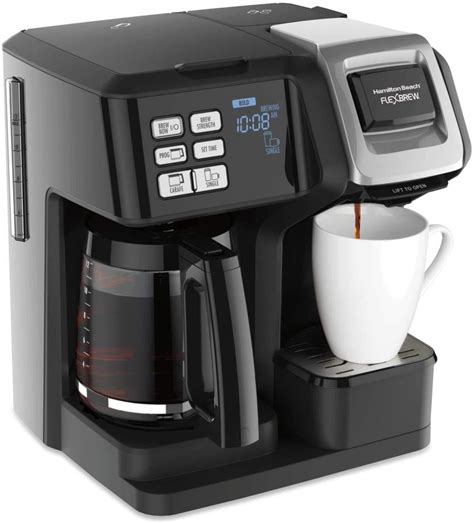 An automated coffee maker can be just a distinctive sort of drip machine. The Best Grind And Brew Single Serve Coffee Maker With Grinder Built In. - Coffee Maker Idea