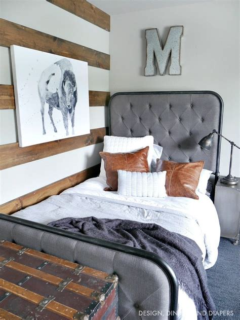 rustic modern boy room taryn whiteaker