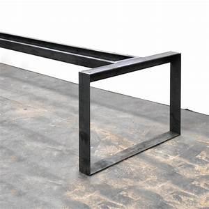 Pied De Table Industriel : pieds de table metal ~ Dailycaller-alerts.com Idées de Décoration