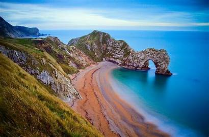 Arch Beach Rock Wallpapers Door Durdle Dorset