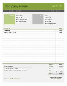 Printable free invoice templates the grid system for Simple invoice system