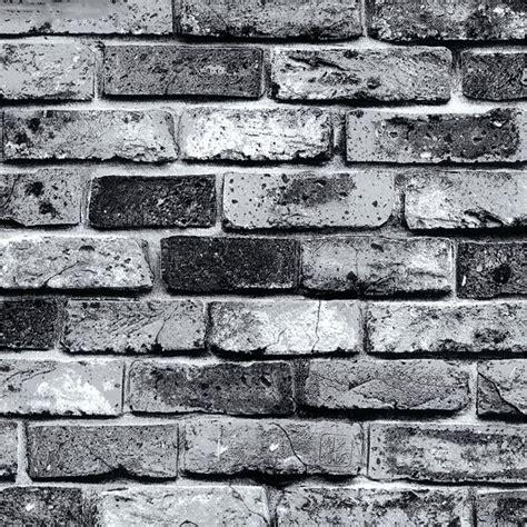 Papier Peint Brique Grise Chicago by Modern Super 3d Stone Wallpaper For Pvc Grey Brick