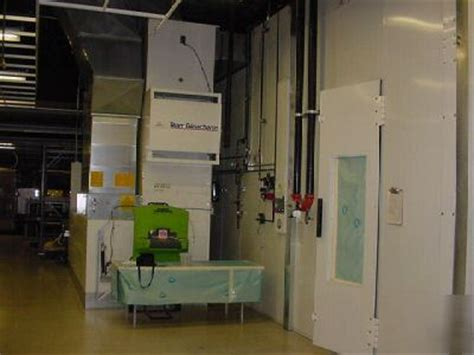 team blowtherm concept downdraft automotive paint booth