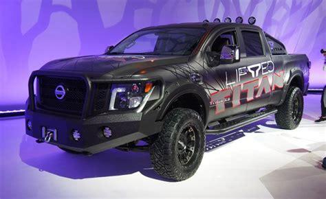 nissan titan titan xd  factory authorized lift kit
