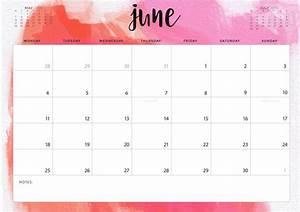 Stylish June Month 2018 Calendar Designs Maxcalendars