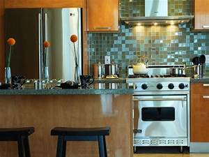 small kitchen decorating ideas pictures tips from hgtv With kitchen colors with white cabinets with wall art for large spaces