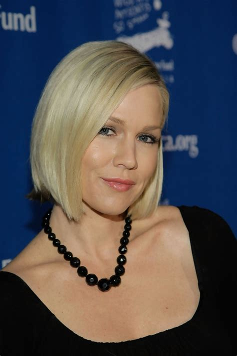 jennie garth side parted straight cut side parted
