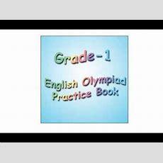 Grade 1 English Olympiad Practice Book Youtube