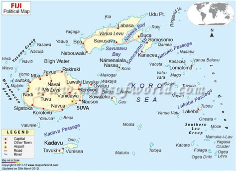 fiji map mow suva fiji european american fiji islands
