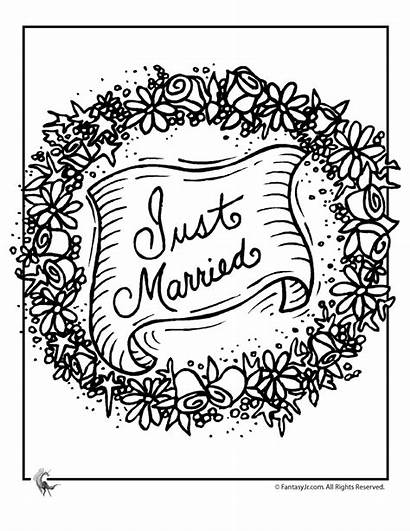 Coloring Pages Married Sheets Books Colouring Children