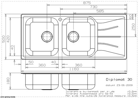 Dimensions Of Kitchen Sink Beautiful Standard Bowl Size