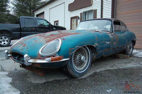 Jaguar Xke Restoration by 1964 Jaguar Xke Series 1 Coupe Needs Total Restoration