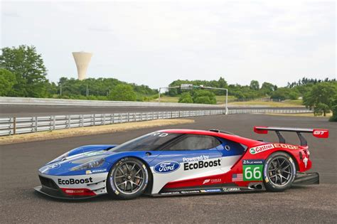 Four Ford Gt Race Cars Will Compete At Le Mans