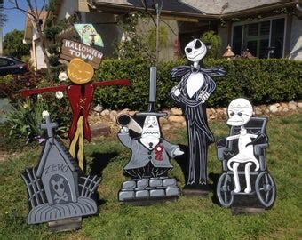 nightmare before yard decorations nightmare before lawn decorations