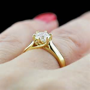 lab created engagement rings engagement season calista solitaire engagement ring white lab created