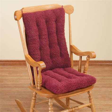 Rocking Chair Cushion Sets by Sherpa Rocking Chair Cushion Set Rocking Chair Pads