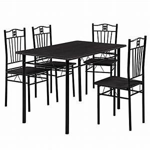 Retro Esstisch Stühle : esstisch und 4 st hle 110 x 70 cm gepolstert im sparpaket retro stuhl ~ Markanthonyermac.com Haus und Dekorationen