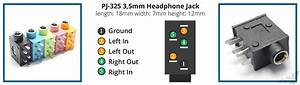 Headphone Jack Connector Pinout