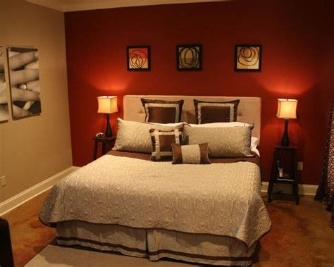Red Bedroom Paint-home Design