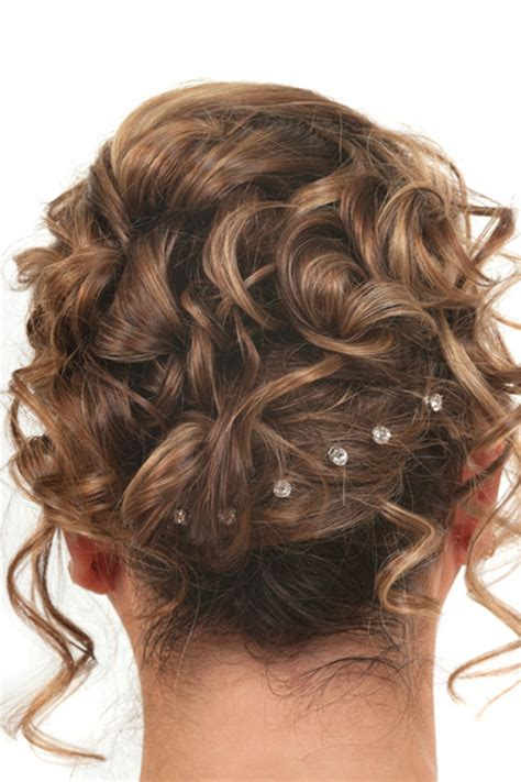 Curl Updo Hairstyles by Curly Updo Hairstyles For Prom