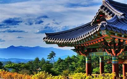 Korea South Wallpapers Temple Wallpapersafari Naksansa