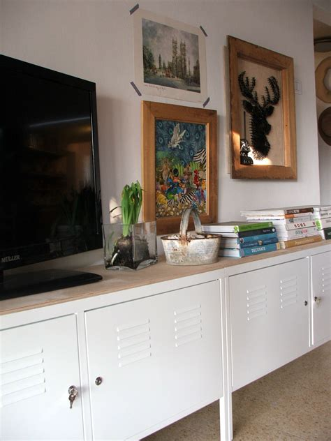 Ikea Ps Sideboard by Ikea Ps Cabinets With Birch Board On Top Tv Benches