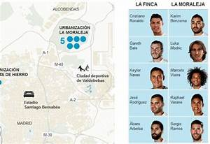 Las casas de los jugadores del Real Madrid Vivienda EL MUNDO