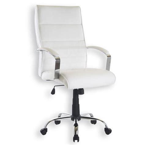 siege weldom chaise de bureau blanc