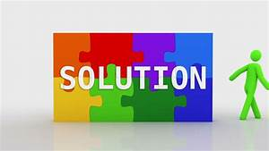 Stock Video Of Solution Puzzle  White Background  2 Videos