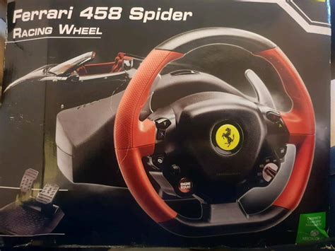 The name ferrari, the prancing horse device, all associated logos and distinctive designs are property of ferrari s.p.a. Super Car: Thrustmaster Ferrari 458 Spider Racing Wheel For Xbox One Instructions
