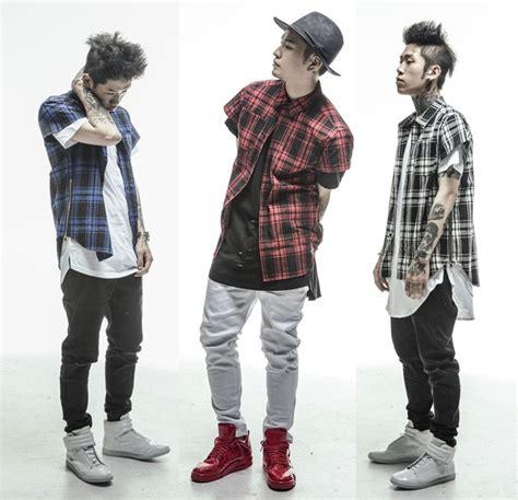2015 New Fashion men hip hop Tartan Tshirt oversized Gold side Extended Zipper red/blue/white ...
