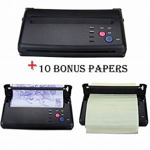new tattoo stencil machine tattoo flash thermal copier With letter stencil maker machine