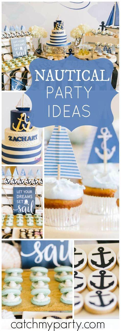 Ideas Nautical Theme by Nautical Birthday Quot 100th Day Nautical Birthday