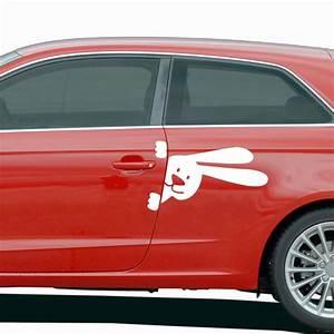 Enlever Sticker Voiture : stickers et autocollants voiture sticker lapin ambiance ~ Medecine-chirurgie-esthetiques.com Avis de Voitures