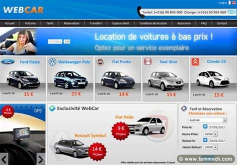 location voiture avec siege auto voitures tunisie nabeul location voiture tunisie avec webcar