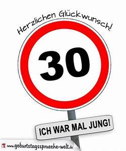 Geburtstagssprüche 30 Lustig Frech : 30 ich war mal jung geburtstagsspr che ~ Frokenaadalensverden.com Haus und Dekorationen