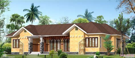 eco friendly single floor kerala villa kerala home
