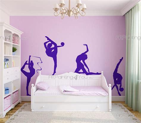 poster mural pour cuisine gymnastique rythmique stickers muraux vdd1039fr