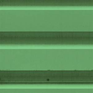 Green painted corrugated metal texture seamless 10029