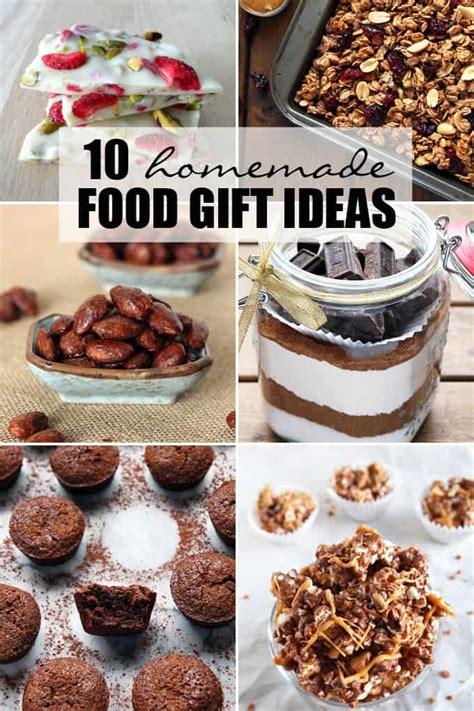 homemade food gift ideas leelalicious
