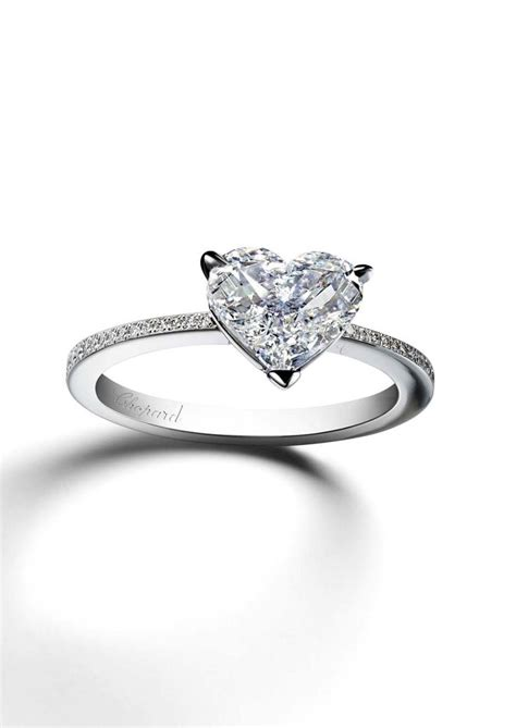 heart shaped engagement rings we re swooning over