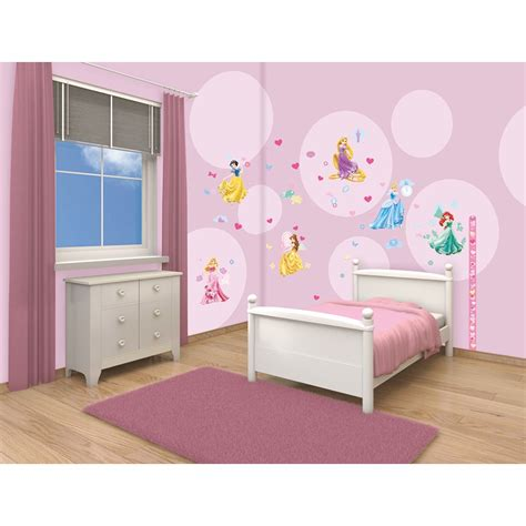 disney princess bedroom decor walltastic disney princess room decor stickers 15173