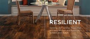 Resilient Vinyl Flooring – Sensible, Carefree Floor