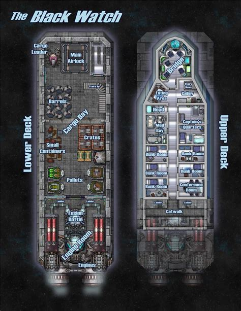 80 best starship deckplans images on pinterest space